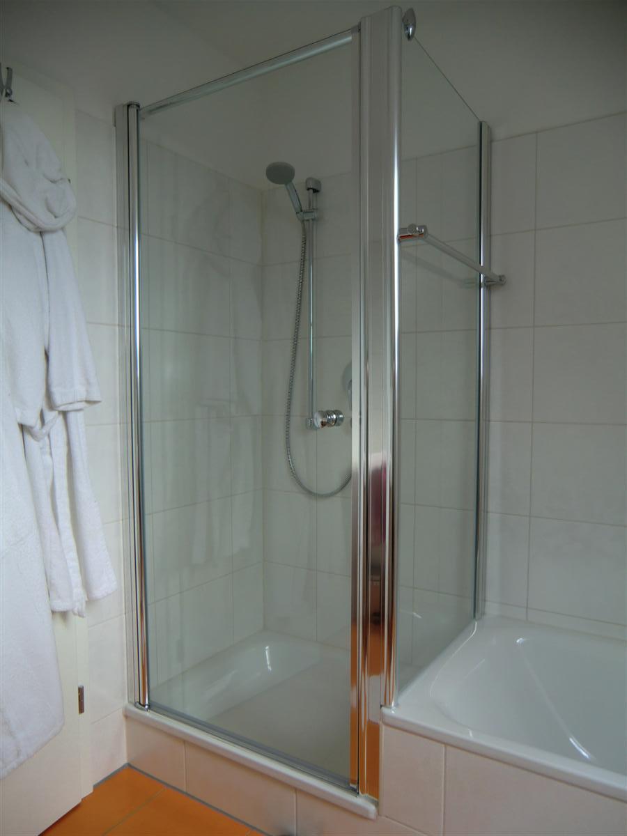 dusche oben abdichten