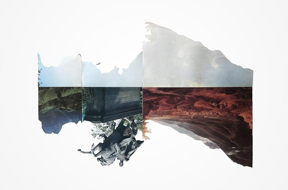 Fotografía de collage Desierto