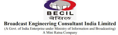 BECIL Recruitment 2019 for 199 JE Posts