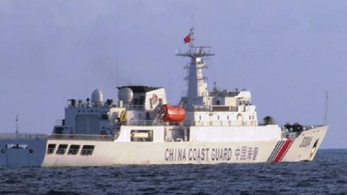 Aduh! Kapal China Langgar Wilayah ZEE Indonesia