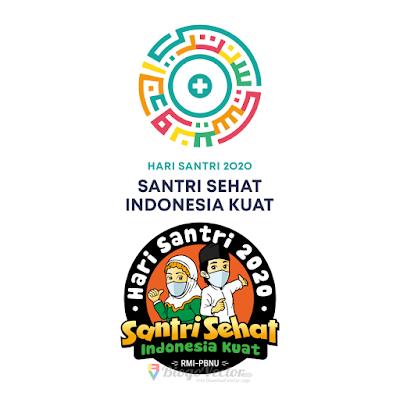 Hari Santri Nasional 2020 Logo vector