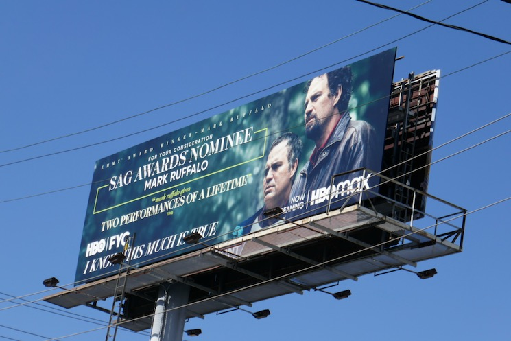 Mark Ruffalo I Know This Much Is True SAG nominee billboard