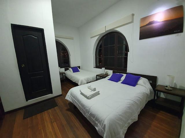 Quarto do Hotel Tinka La Paz