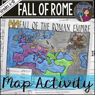 https://www.teacherspayteachers.com/Product/Fall-of-Rome-Map-Activity-4429778
