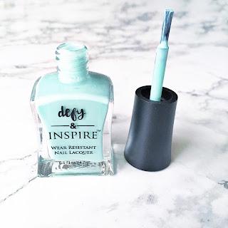 defy & inspire nail polish paradise