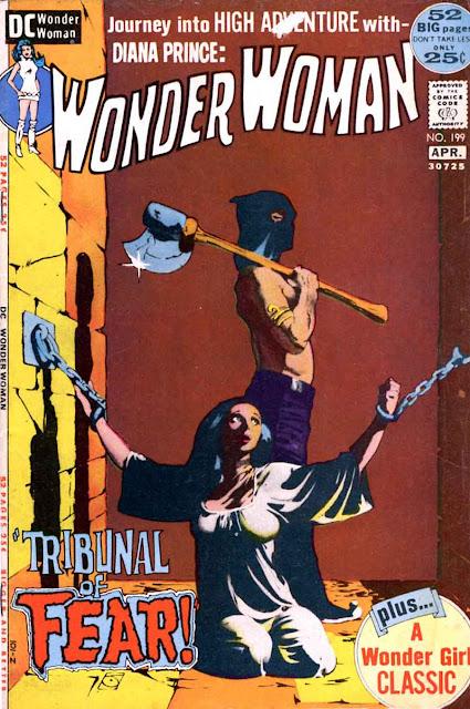 Wonder Woman v1 #199 dc 1970s bronze age comic book cover art by Jeff Jones