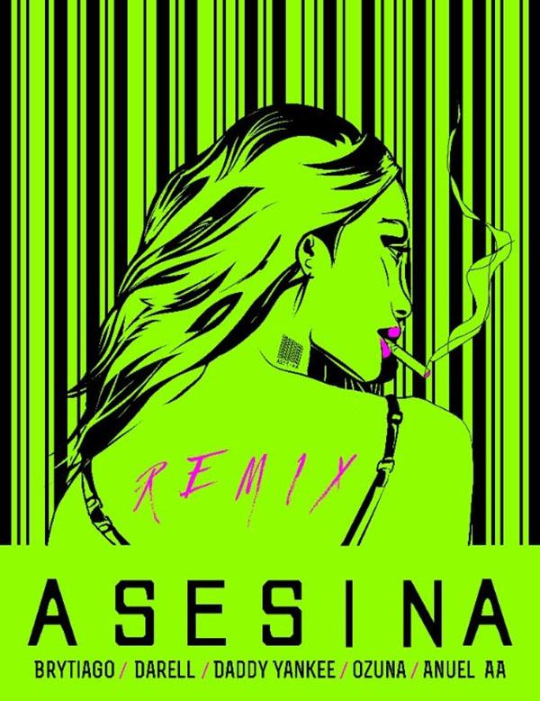 Asesina-Remix-Brytiago-Darell-Daddy-Yankee-Ozuna-Anuel-AA
