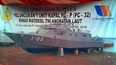 Peluncuran 1 Unit PC-32 (Bawean) dan KAL 28 (Kelambau)
