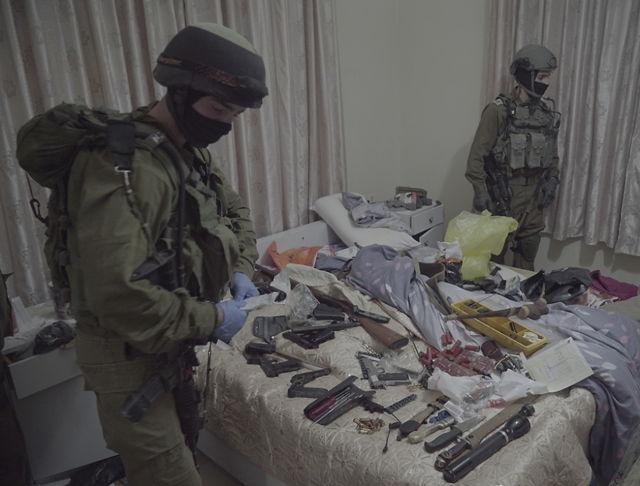 IDF allanan fabrica clandestina de armas