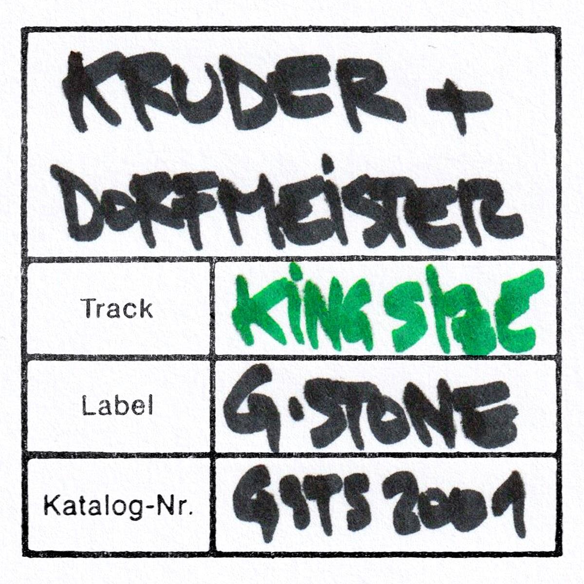 """KRUDER & DORFMEISTERS LOST ALBUM IN DEN STARTLÖCHERN - """"1995""""   HEUTE HÖREN WIR DEN SONG KING SIZE"""