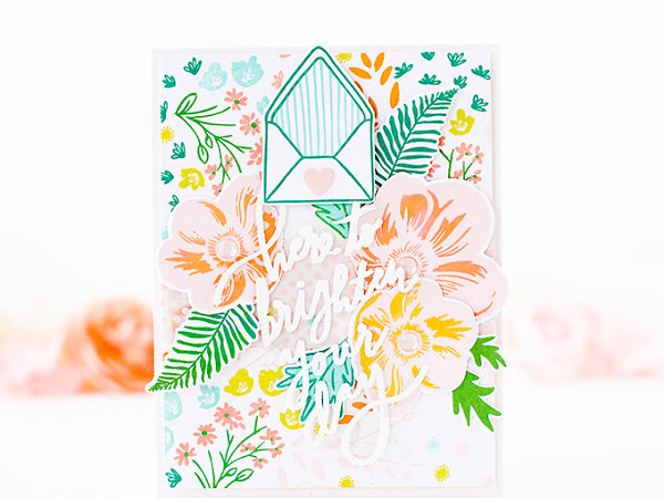 Here to Brighten Your Day - NEW Tutorial Tuesday | The Stamp Market