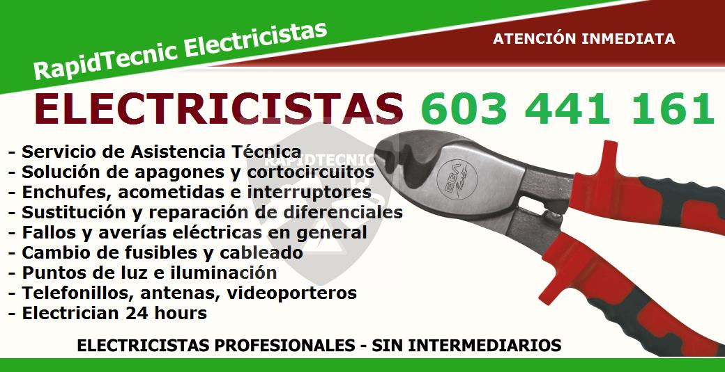 Reparaciones electricistas torre la sal castell n 603 - Electricistas en castellon ...
