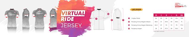 olahraga sepeda PRURide Indonesia 2020 Virtual Ride