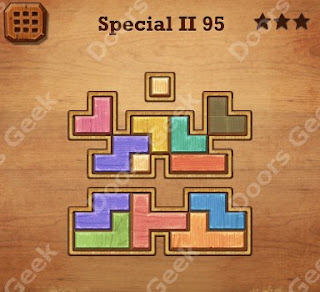 Cheats, Solutions, Walkthrough for Wood Block Puzzle Special II Level 95