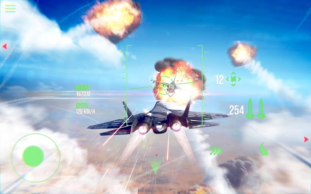Modern Warplanes Hileli APK - Para Hileli