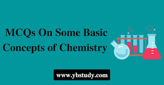 Some basic concepts of chemistry mcqs
