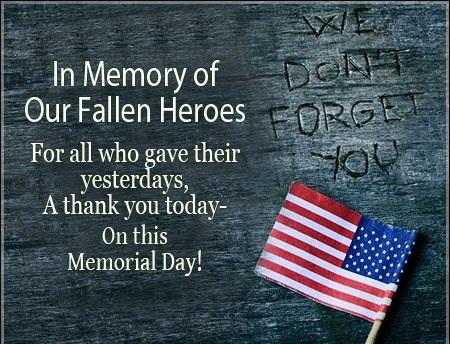 Happy Memorial day Quotes 2020