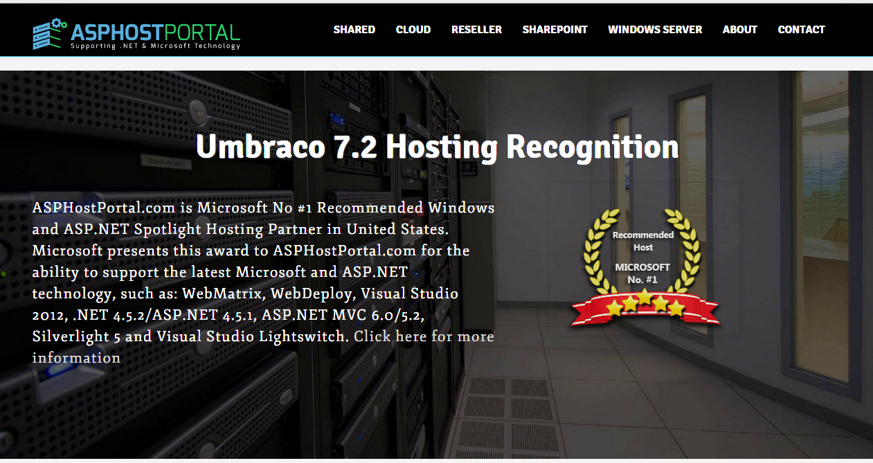 Best ASP.NET Hosting | Umbraco Hosting Recommendation