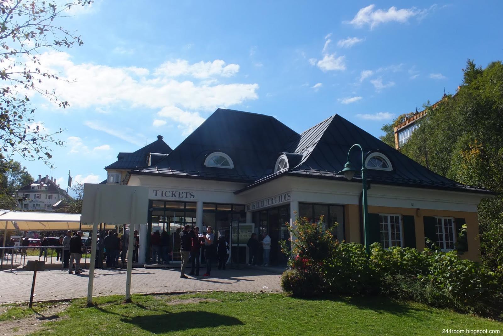 ノイシュヴァンシュタイン城チケットオフィス neuschwanstein-castle-ticket-office