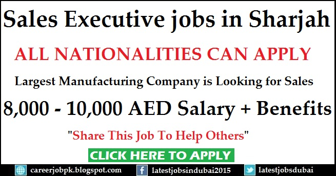 Sales jobs in Dubai Sharjah