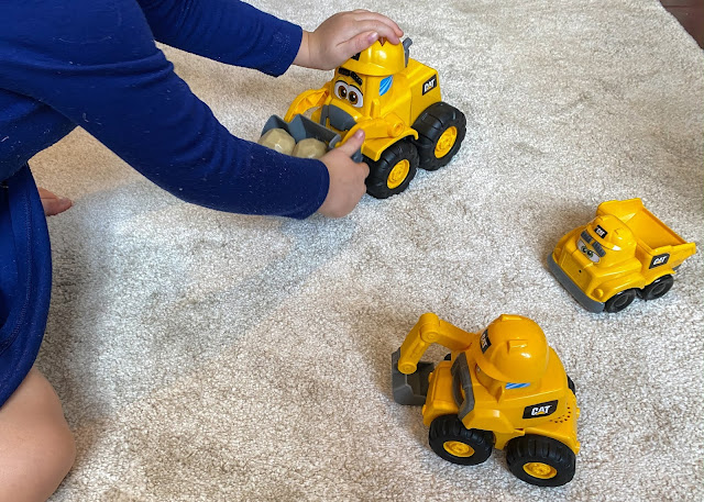 Playing with the Junior Crew toys received for review