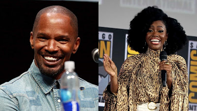 jamie foxx and teyonah parris will share screen with john boyega in they cloned tyrone.