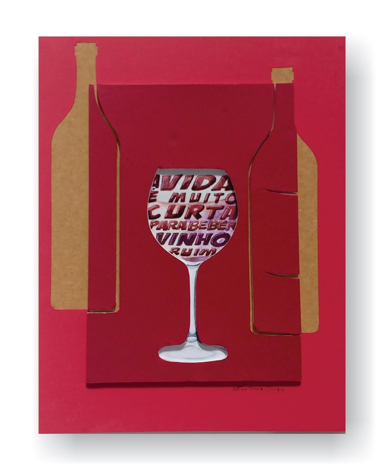 Poster lettering, exclusivo, original e criativo, feito com colagem, usando frase para reflexão, pode ser usado para decoração.