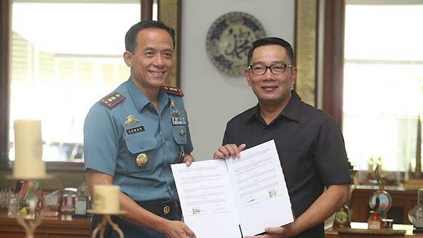 Pemkot Fasilitasi Mobil Operasional Danlanal Bandung