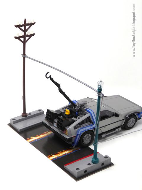 Cable para rayo con DeLorean Playmobil Regreso al Futuro - Calendario de Adviento (Playmobil Back To The Future - Calendario de Adviento)