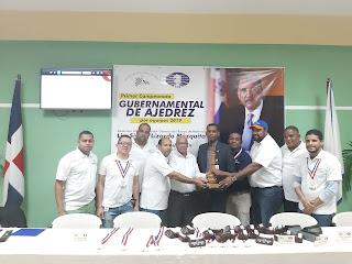 Banreservas Campeón de la primera Copa Gubernamental de Ajedrez por equipos 2019