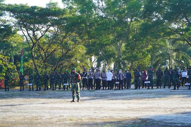 Danrem 162/WB Pimpin Apel Gelar Pasukan Pengamanan Kunjungan Kerja Putri Wapres RI di NTB.