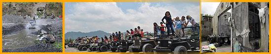 Paket Wisata Adventure Merapi Jogjakarta Lava Tour