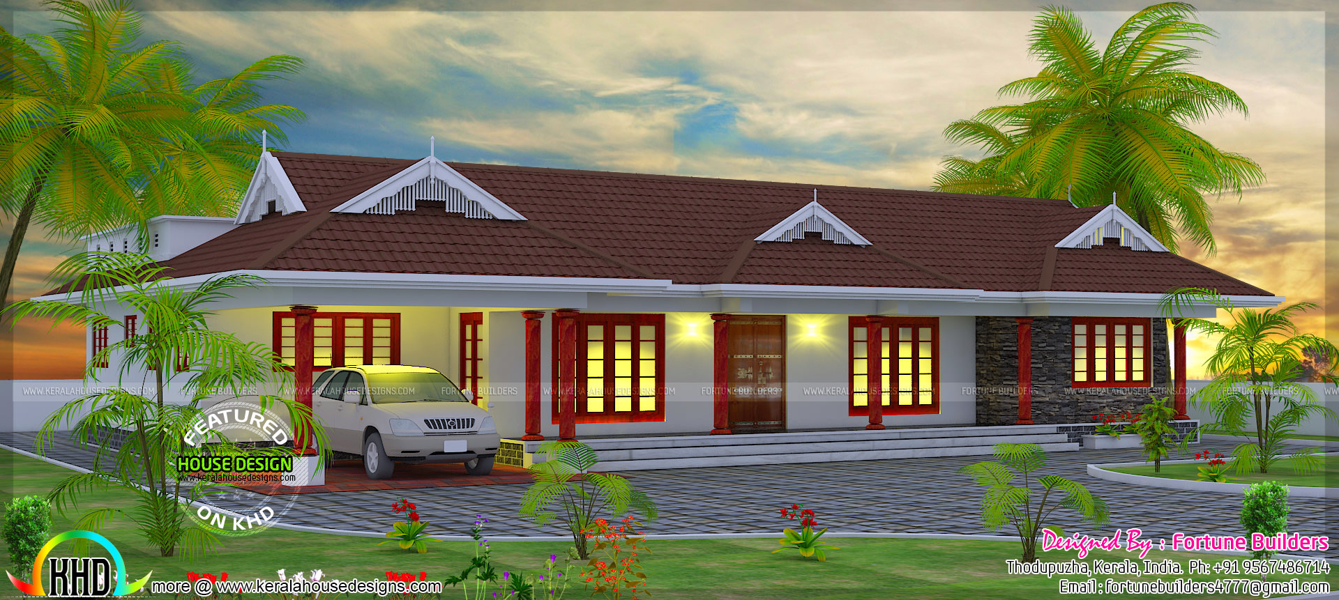 Traditional Home In 2200 Sq Ft Kerala Home Design And