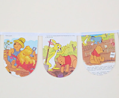 image winnie the pooh bunting aa milne honey domum vindemia decor children