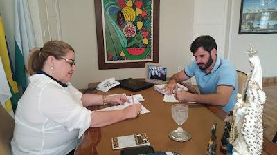 Prefeita Olga Fernandes divulgará toda programação social da Padroeira de Martins amanhã, 11.