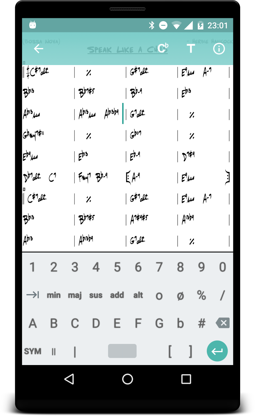 Fakebook chord and lyrics editor skrivarna software with a custom chord and symbol keyboard the editor is quick and easy to use both for small changes and for adding new charts hexwebz Gallery