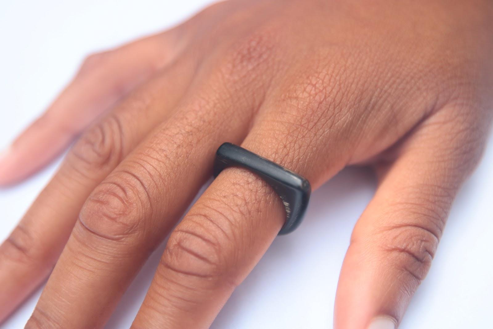 Malik Cow Horn Ring