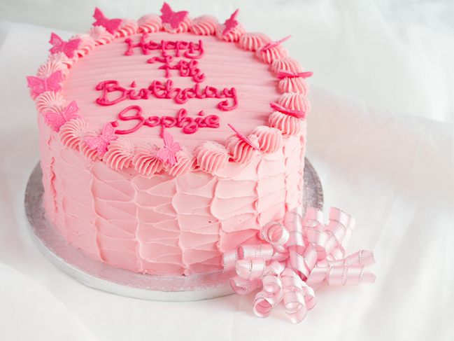 How To Decorate A Birthday Cake At Home