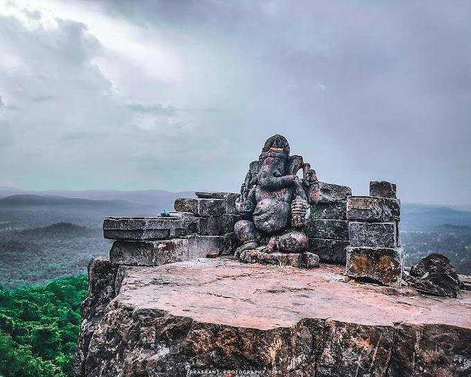 प्राकृति का खुबसूरत नमूना है गणेश जी की यह मूर्ति  : ढोलकल गणेश : Dholkal Ganesh : Chhattisgarh Tourism Places