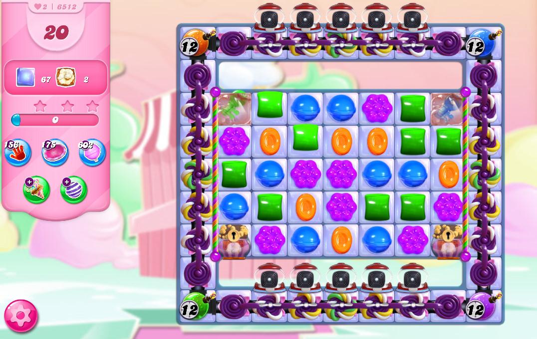 Candy Crush Saga level 6512