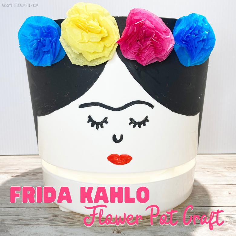 Frida Kahlo - famous artists for kids