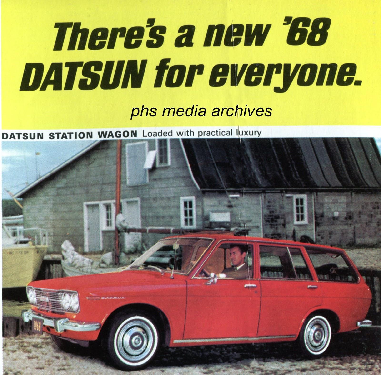 Datsun In The 60s Phscollectorcarworld