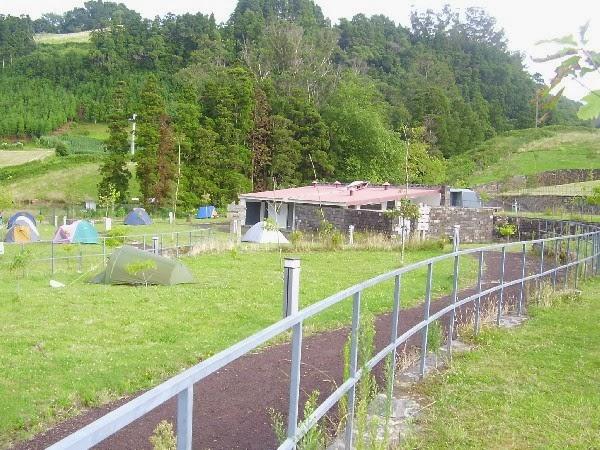 Campismo Nos Açores Parque De Campismo Nas Furnas Ilha De São Miguel Açores