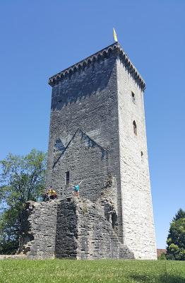 Climbing Moncade Tower
