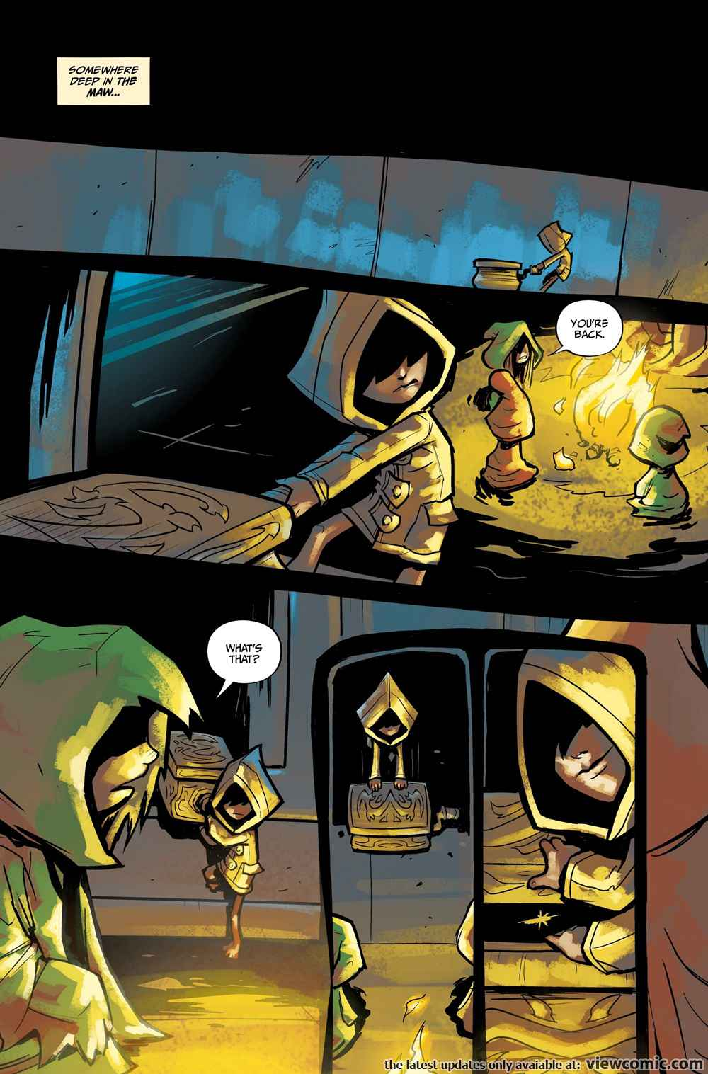 Little Nightmares 002 (2017)  | Vietcomic.net reading comics online for free