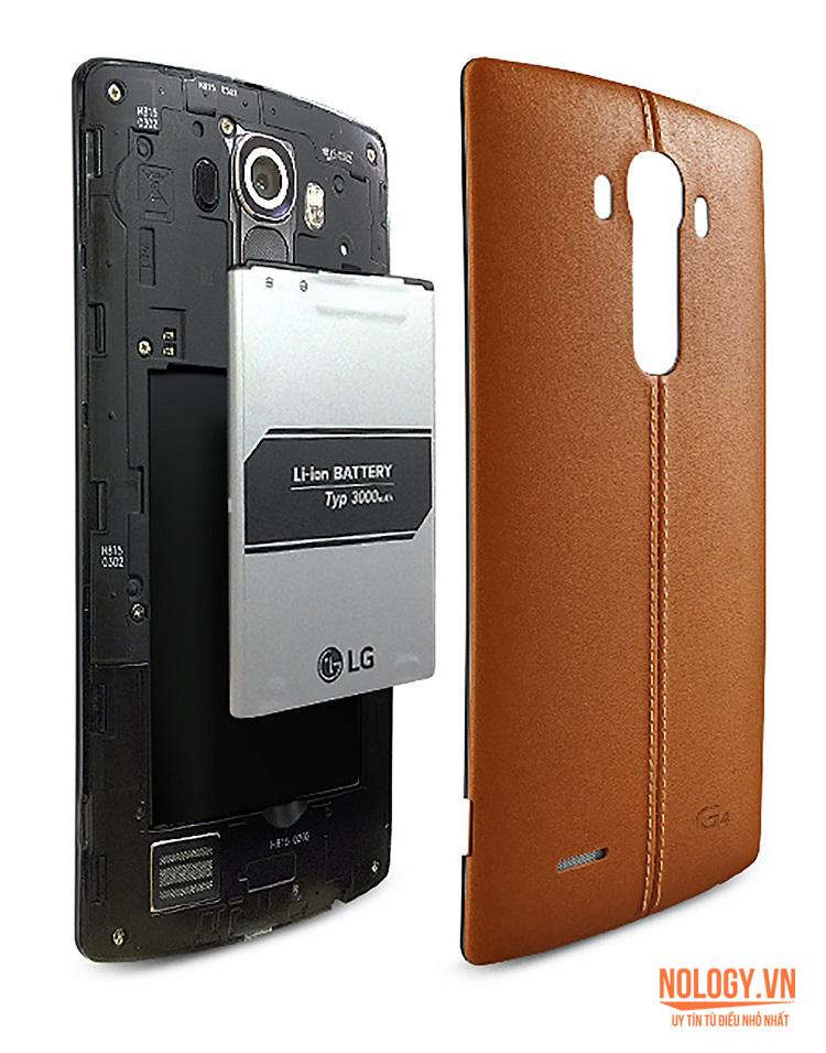 LG G4 Docomo phần sau ốp lưng