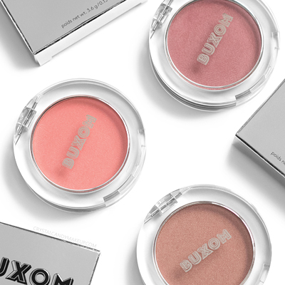 Buxom Wanderlust Primer-Infused Blushes