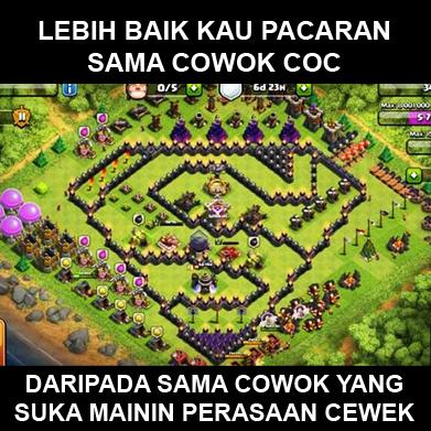 Meme Clash Of Clans Kocak