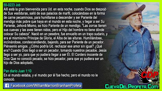 Para ser Pariente de un pecador - William Branham en Español