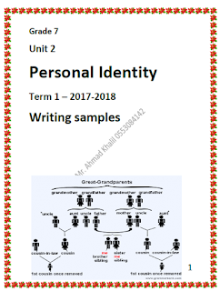 اوراق عمل Personal Identity